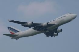 木人さんが、成田国際空港で撮影したエールフランス航空 747-428F/ER/SCDの航空フォト(飛行機 写真・画像)
