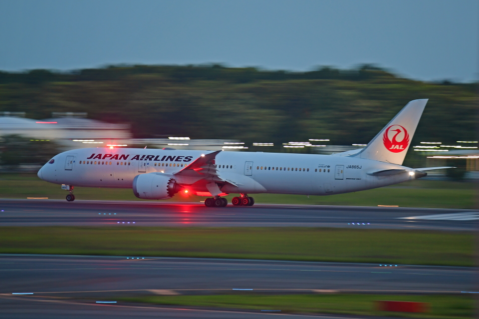 Souma2005さんの日本航空 Boeing 787-9 (JA865J) 航空フォト