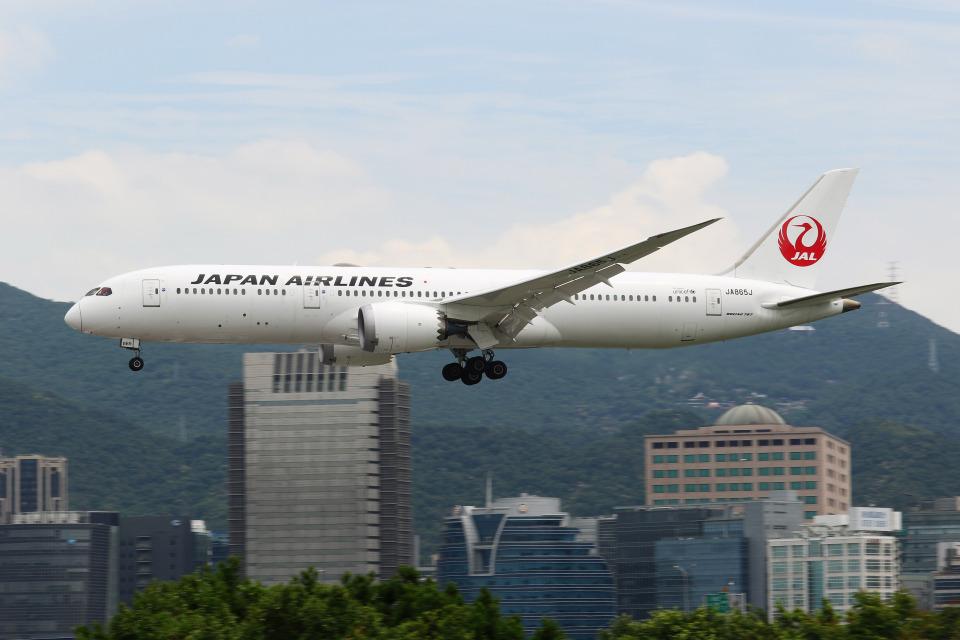 HLeeさんの日本航空 Boeing 787-9 (JA865J) 航空フォト