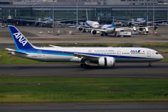 ▲®さんが、羽田空港で撮影した全日空 787-9の航空フォト(飛行機 写真・画像)