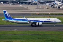 ▲®さんが、羽田空港で撮影した全日空 A321-272Nの航空フォト(飛行機 写真・画像)