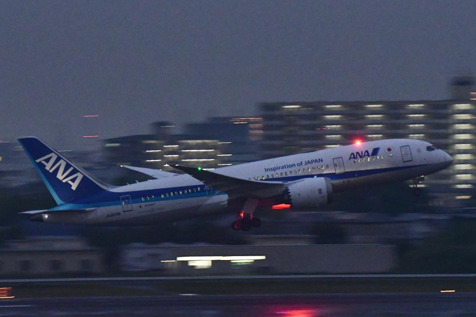 TOPAZ102さんの全日空 Boeing 787-8 Dreamliner (JA829A) 航空フォト