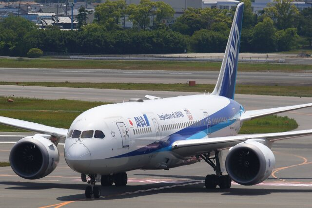 航空フォト:JA838A 全日空 787-8 Dreamliner