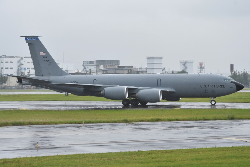 デルタおA330さんのアメリカ空軍 Boeing C-135 Stratolifter (64-14828) 航空フォト