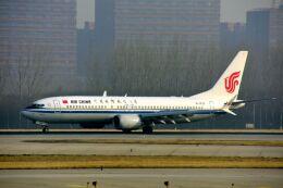 まいけるさんが、北京首都国際空港で撮影した中国国際航空 737-8-MAXの航空フォト(飛行機 写真・画像)