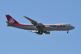 れぐぽよさんが、小松空港で撮影したカーゴルクス 747-8R7F/SCDの航空フォト(飛行機 写真・画像)