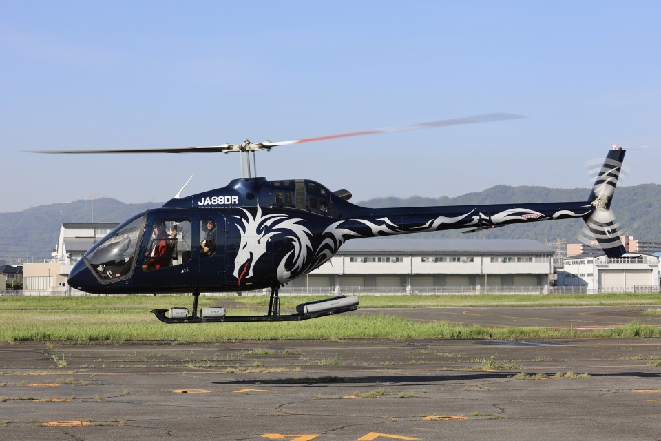 Hii82さんのセコインターナショナル Bell 505 (JA88DR) 航空フォト