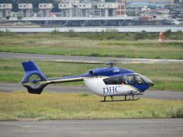 F.YUKIHIDEさんが、岡南飛行場で撮影したディーエイチシー EC145T2の航空フォト(飛行機 写真・画像)