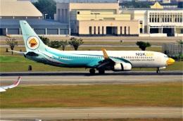 amagoさんが、ドンムアン空港で撮影したノックエア 737-8ASの航空フォト(飛行機 写真・画像)