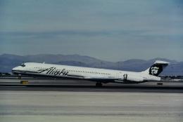 ゴンタさんが、マッカラン国際空港で撮影したアラスカ航空 MD-83 (DC-9-83)の航空フォト(飛行機 写真・画像)