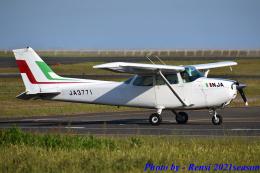 れんしさんが、山口宇部空港で撮影した新日本航空 172M Skyhawkの航空フォト(飛行機 写真・画像)