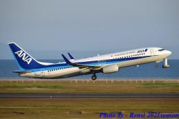 れんしさんが、山口宇部空港で撮影した全日空 737-881の航空フォト(飛行機 写真・画像)