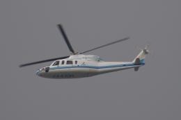 木人さんが、東京ヘリポートで撮影したエクセル航空 S-76A+の航空フォト(飛行機 写真・画像)