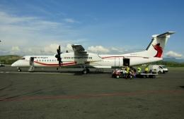 TA27さんが、ジャクソン国際空港で撮影したニューギニア航空 DHC-8-402Q Dash 8の航空フォト(飛行機 写真・画像)