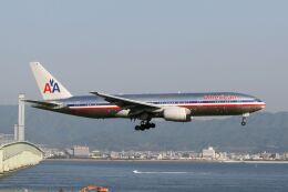hiroki_h2さんが、関西国際空港で撮影したアメリカン航空 777-223/ERの航空フォト(飛行機 写真・画像)