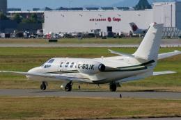 TA27さんが、バンクーバー国際空港で撮影したunknown 501 Citation I/SPの航空フォト(飛行機 写真・画像)