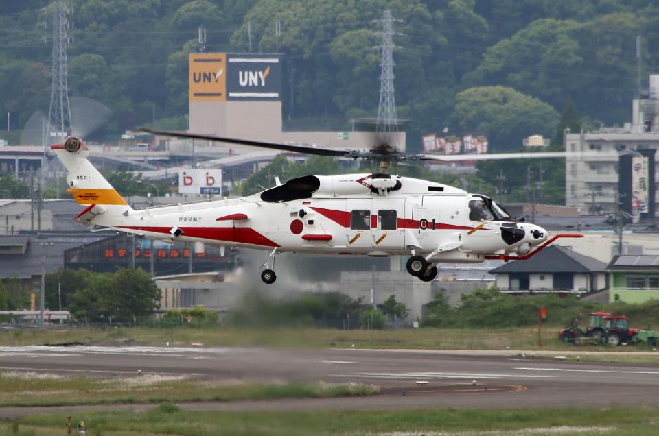 なごやんさんの三菱重工業 Mitsubishi SH-60L (8501) 航空フォト