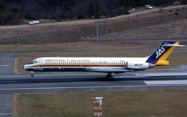 日本エアシステム McDonnell Douglas DC-10 JA8551 青森空港 航空フォト | by