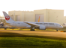 M.Chihara_1さんが、ペインフィールド空港で撮影した日本航空 787-8 Dreamlinerの航空フォト(飛行機 写真・画像)