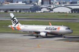 プルシアンブルーさんが、福岡空港で撮影したジェットスター・ジャパン A320-232の航空フォト(飛行機 写真・画像)