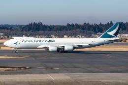 Ariesさんが、成田国際空港で撮影したキャセイパシフィック航空 747-867F/SCDの航空フォト(飛行機 写真・画像)