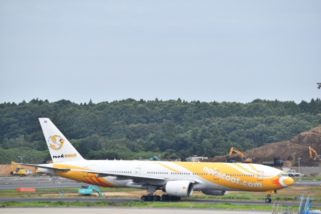 Anchorage2000さんが、成田国際空港で撮影したノックスクート 777-212/ERの航空フォト(飛行機 写真・画像)