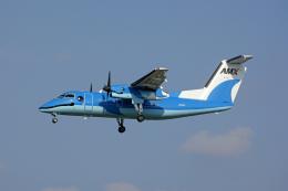 航空フォト:JA81AM 天草エアライン DHC-8-100