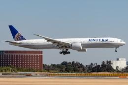 Ariesさんが、成田国際空港で撮影したユナイテッド航空 777-322/ERの航空フォト(飛行機 写真・画像)