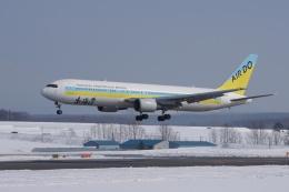磐城さんが、旭川空港で撮影したAIR DO 767-33A/ERの航空フォト(飛行機 写真・画像)