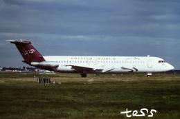 tassさんが、ロンドン・ガトウィック空港で撮影したブリティッシュ・ワールド・エアラインズ 111-518FG One-Elevenの航空フォト(飛行機 写真・画像)