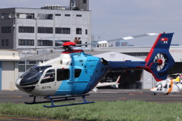 航空フォト:JA03CP 中日新聞社 EC135/635