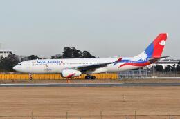 ポン太さんが、成田国際空港で撮影したネパール航空 A330-243の航空フォト(飛行機 写真・画像)