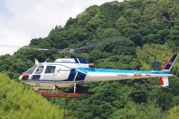 ラムさんが、静岡ヘリポートで撮影した中日本航空 AS350B Ecureuilの航空フォト(飛行機 写真・画像)