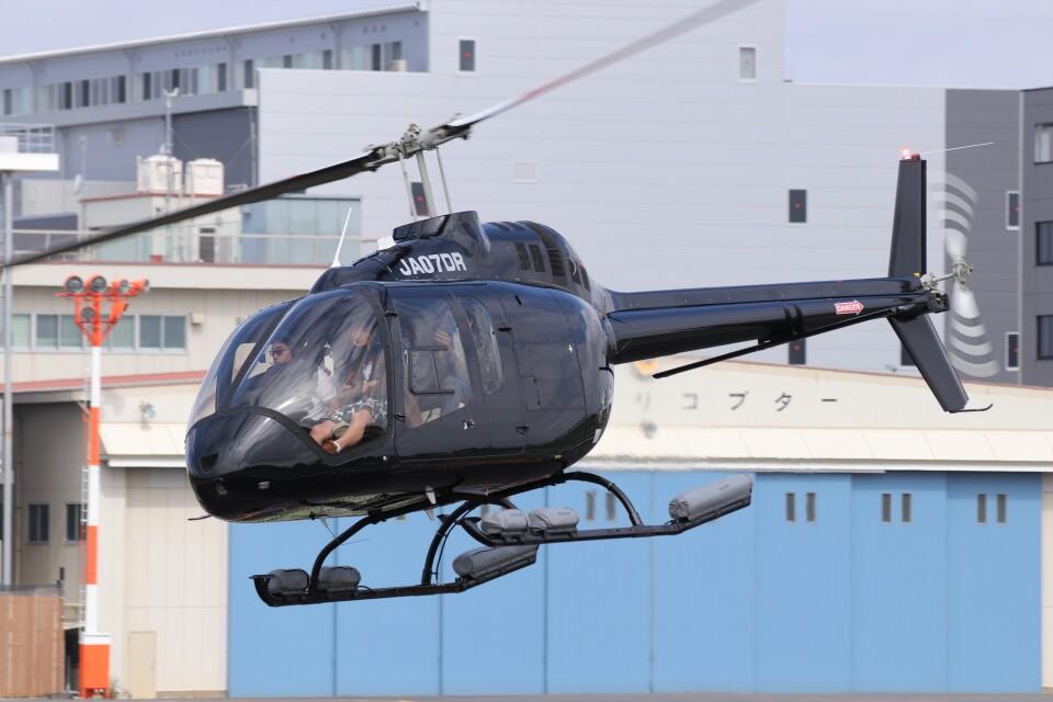KAZFLYERさんの日本法人所有 Bell 505 (JA07DR) 航空フォト