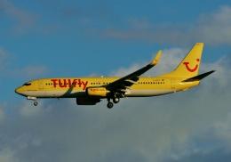 TA27さんが、フランクフルト国際空港で撮影したトゥイフライ 737-8K5の航空フォト(飛行機 写真・画像)
