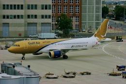 TA27さんが、フランクフルト国際空港で撮影したガルフ・エア A320-214の航空フォト(飛行機 写真・画像)