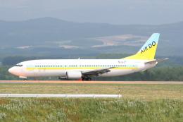 プルシアンブルーさんが、旭川空港で撮影したAIR DO 737-46Mの航空フォト(飛行機 写真・画像)