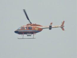 いねねさんが、名古屋飛行場で撮影した新日本ヘリコプター 206L-3 LongRanger IIIの航空フォト(飛行機 写真・画像)