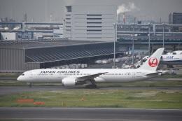 セッキーさんが、羽田空港で撮影した日本航空 787-9の航空フォト(飛行機 写真・画像)