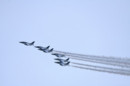 だだちゃ豆さんが、山形空港で撮影した航空自衛隊 T-4の航空フォト(飛行機 写真・画像)