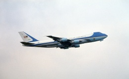 LEVEL789さんが、羽田空港で撮影したアメリカ空軍 VC-25A (747-2G4B)の航空フォト(飛行機 写真・画像)