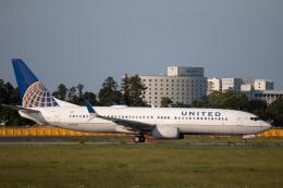 kikiさんが、成田国際空港で撮影したユナイテッド航空 737-824の航空フォト(飛行機 写真・画像)