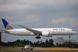 kikiさんが、成田国際空港で撮影したユナイテッド航空 787-9の航空フォト(飛行機 写真・画像)