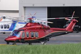 KAZFLYERさんが、東京ヘリポートで撮影した日本法人所有 AW139の航空フォト(飛行機 写真・画像)