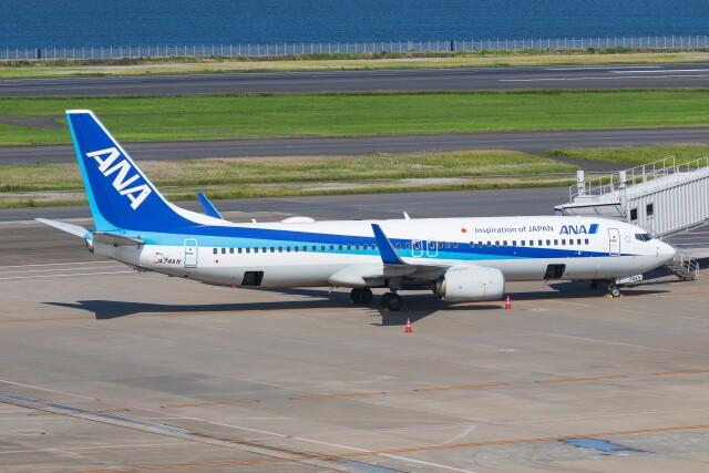 航空フォト:JA74AN 全日空