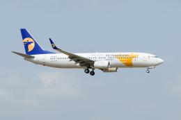 kuraykiさんが、成田国際空港で撮影したMIATモンゴル航空 737-8SHの航空フォト(飛行機 写真・画像)