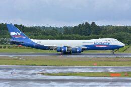 サンドバンクさんが、成田国際空港で撮影したシルクウェイ・ウェスト・エアラインズ 747-83QFの航空フォト(飛行機 写真・画像)