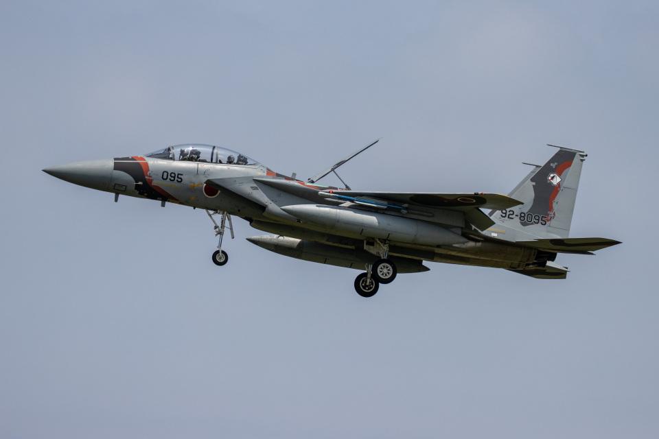 チャッピー・シミズさんの航空自衛隊 Mitsubishi F-15DJ Eagle (92-8095) 航空フォト