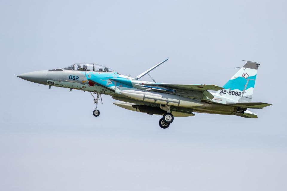 チャッピー・シミズさんの航空自衛隊 Mitsubishi F-15DJ Eagle (32-8082) 航空フォト