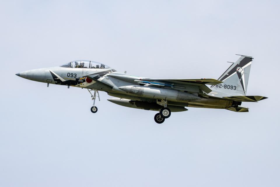 チャッピー・シミズさんの航空自衛隊 Mitsubishi F-15DJ Eagle (82-8093) 航空フォト